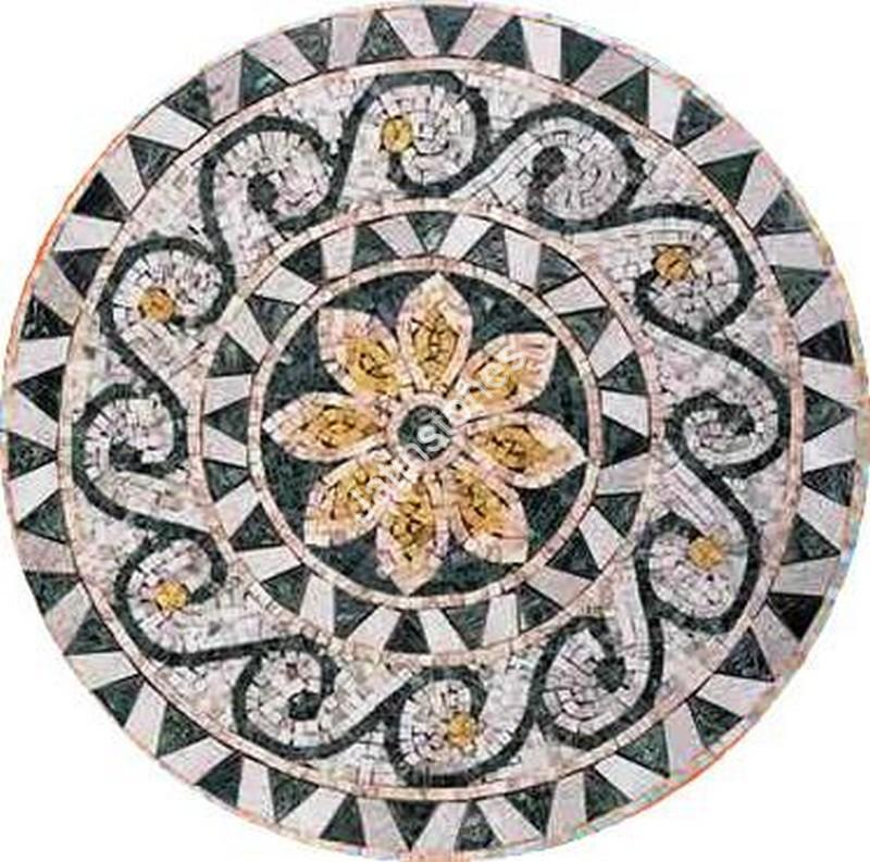 Natural Stones Mosaic Carpets - Paintings