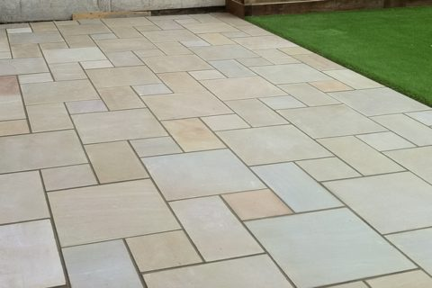 Sandstone Tiles for heavy movement areas